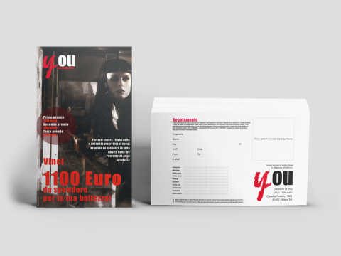 You Magazine, cartolina per concorso