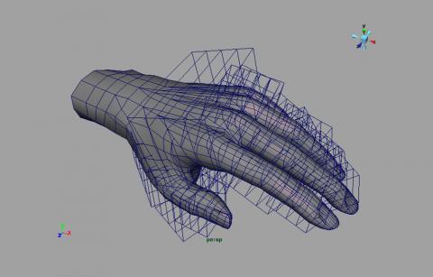 Gesti nel sociale, modello 3D