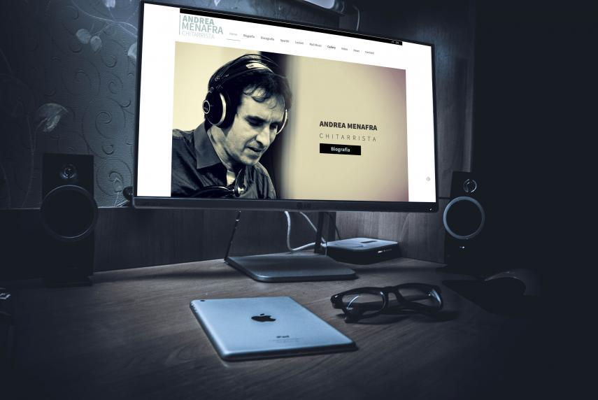 Twoguitars, Andrea Menafra website