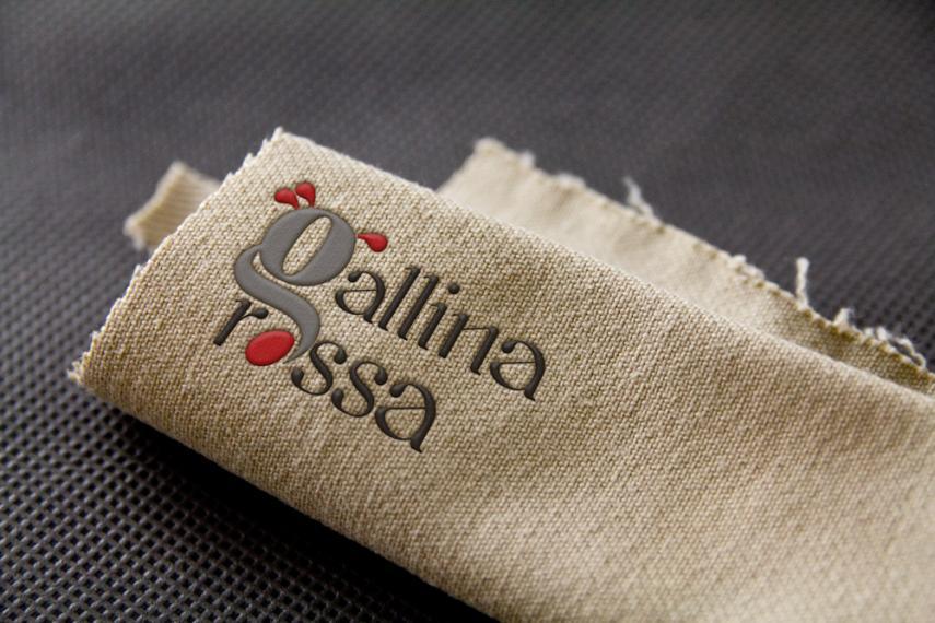 Gallina rossa logo